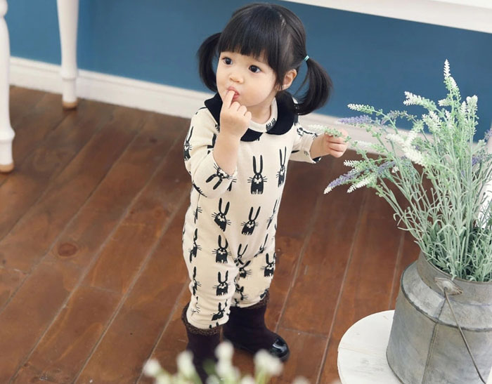 Little baby girl outwear