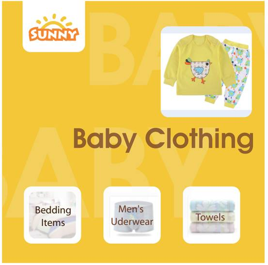 Baby clothing exhibition