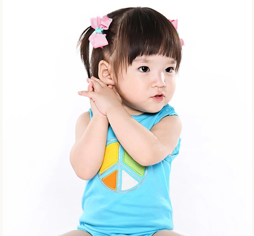 baby girl cute bodysuit