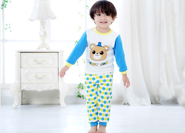 Baby new cute bear pajamas