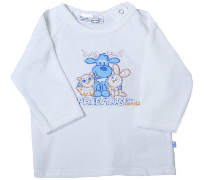 Baby unisex t shirt with pattern