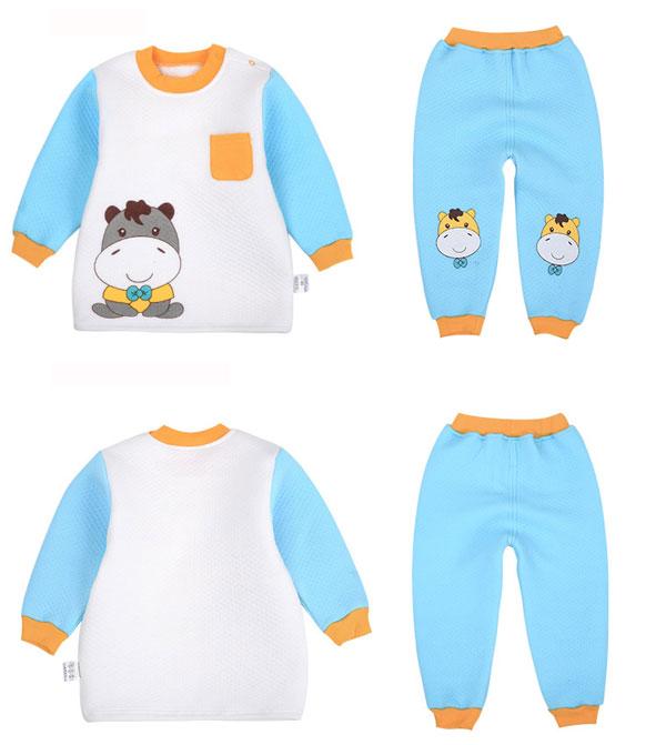 e52433719668 Spring Autumn Cute Cartoon Baby Cotton Pajamas