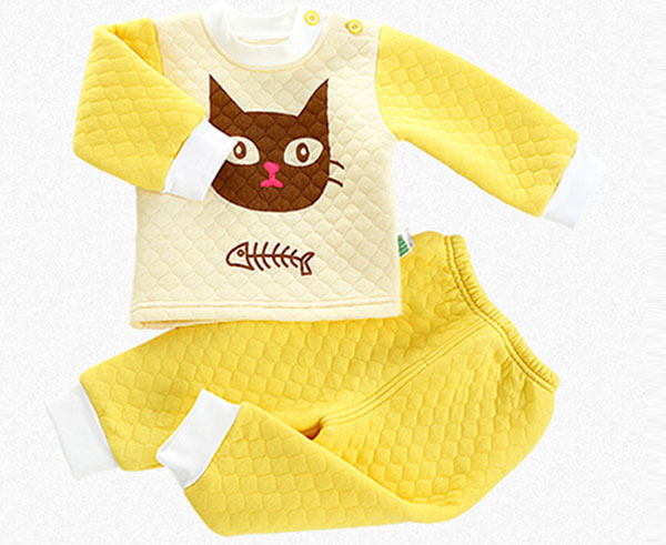 lovely winter new baby pajama set