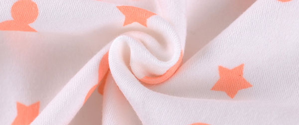 Soft cotton material for baby girl pajamas