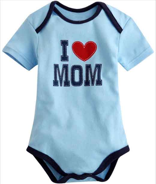 Baby cute summer bodysuit